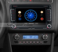 2003-2011 VW Volkswagen Touran car stereo after installation