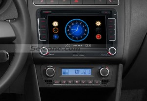 2006-2011 VW Volkswagen EOS car stereo after installation