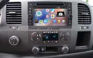 2007-2012 Chevy Chevrolet Tahoe Suburban  car stereo after installation
