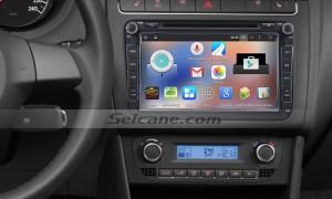 2010-2013 VW Volkswagen POLO car radio after installation