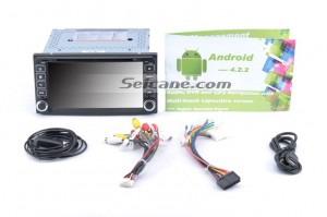 Check all the accessories for the new Seicane head unit