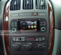 1999 2000 2001-2004 Jeep Grand Cherokee head unit after installation