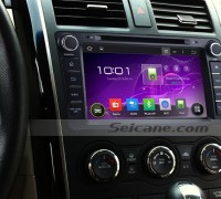 2007-2015 Mazda CX-9 car stereo after installation