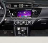 2013 2014 Toyota LEVIN car radio after installation