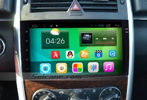 2014 Mercedes-Benz vito viano car radio after installation