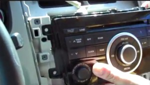 Take out the original radio and disconnect the original harness
