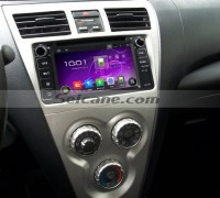 2001-2008 Toyota RAV4 Sat Navi dvd stereo after installation
