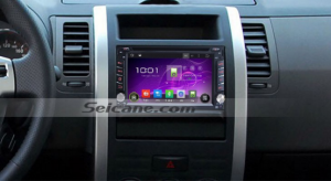 2005-2007 Nissan SUNNY Bluetooth gps dvd stereo after installation
