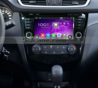 Seicane 2014 Nissan QashQai head unit after installation