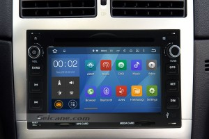 1998-2008 PEUGEOT 307 dvd player car radio after installation