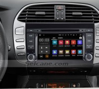 2007-2012 FIAT BRAVO Radio DVD Navigation System after installation