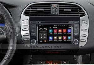 2007-2012 FIAT BRAVO Radio DVD Navigation System after installation