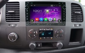 2007-2012 GMC Yukon Bluetooth dvd car radio after installation
