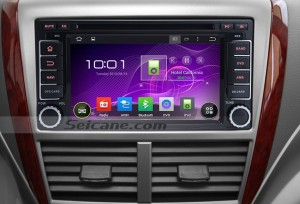 2008-2013 Subaru Impreza gps Bluetooth car stereo after installation