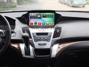 2009-2014 Honda Odyssey Radio after installation