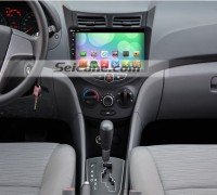 2011- Dodge Attitude GPS Bluetooth DVD Car Radio after installation