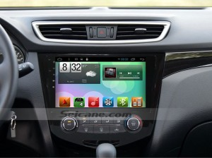 2013 2014 2015 Nissan Qashqai GPS Navi Car Radio after installation