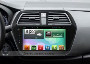 2013-2016 Suzuki SX4 Radio after installation