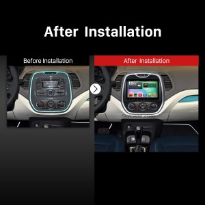 2014 2015 Renault Captur Duster Speaker Sound Audio System after installation