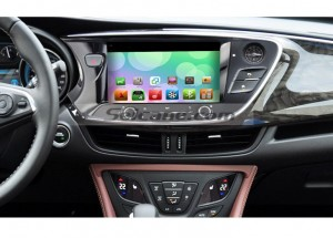 2014 Buick Envision Car Radio after installation