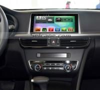 2016 Kia K5 GPS Bluetooth DVD Car Radio after installation
