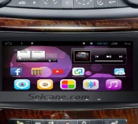 2002-2008 Mercedes-Benz E Class W211 E200 E220 E240 E270 E280 Stereo Audio after installation