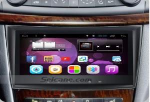 2002-2008 Mercedes-Benz E Class W211 E200 E220 E240 E270 E280 Stereo Audio after installation