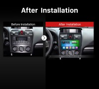 2012 2013 2014 Subaru Forester Stereo after installation