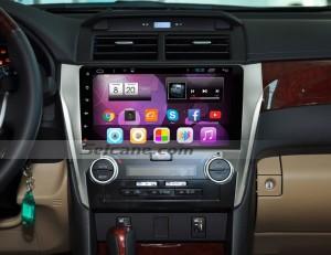 2012 2013 2014 Toyota CAMRY Radio after installation