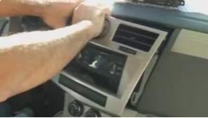 Take the panel off the dash and disconnect the wires from the car