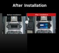 2002-2007 Dodge Intrepid Magnum Neon car stereo after installation