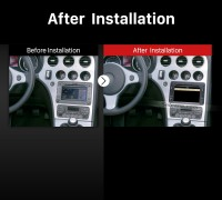 2005-2013 Alfa Romeo 159 factory radio after installation