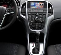 2010-2013 Opel Astra Radio after installation