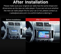 1998-2009 VW Volkswagen T5 GPS Bluetooth after installation