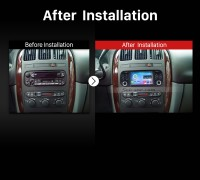 2002-2007 CHRYSLER Caravan Car Radio after installation