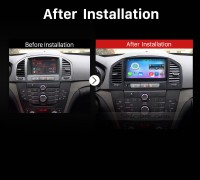 2008-2013 Opel Vauxhall Insignia Buick Regal GPS Bluetooth after installation