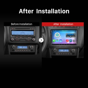 2008 2009 2010 2011 2012-2013 VW Volkswagen Scirocco Passat CC Golf 6 GPS Bluetooth Car Radio after installation