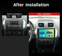 2006 2007 2008 2009 2010-2012 Suzuki SX4 Car Radio after installation