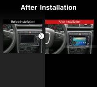 2013 2014 2015 SEAT EXEO Car Stereo after installation