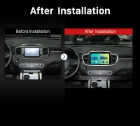 2015 2016 KIA Sorento Car Radio after installation