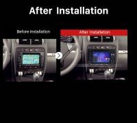 2003 2004 2005 2006 2007 -2011 Porsche Cayenne GPS Bluetooth after installation