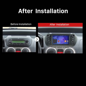 2007 2008 2009 2010 2011-2013 FIAT Fiorino Car Radio after installation