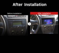 2012 2013 2014 Skoda Octiva Car Radio after installation