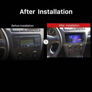 2012 2013 2014 Skoda Octiva Car Radio after installation