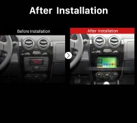 2012 2013 RENAULT DUSTER Car Radio after installation