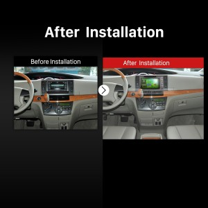 2006 2007 2008 2009 2010-2016 TOYOTA PREVIA Estima Tarago Canarado GPS Bluetooth after installation