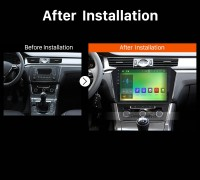 2013 2014 2015 VW Volkswagen PASSAT Car Radio after installation