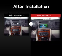 Dodge Jeep Chrysler Mitsubishi Car Radio after installation