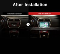 2013 2014 Suzuki S Cross GPS Navi Car Radio after installation