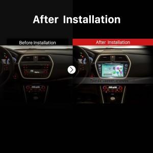 2013 2014 Suzuki S Cross GPS Navi Car Radio after installation